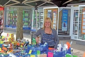 Lesley Taylor of Swag Swadlincote Market