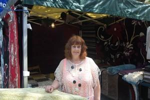 Sharon and Robs Rugs Swadlincote Market