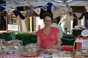 Ann from Linnys Larder had council funding to start set up her business