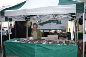 Gilly Kiddy of Redwinter Wild Game Hertford Market
