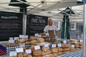 Greg from Brownbread Hertford Market