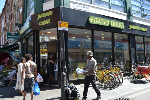 Healthy Eaters Jamaican restaurant Brixton market