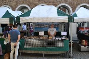 Ronnie from The Hertford Porker Hertford Market