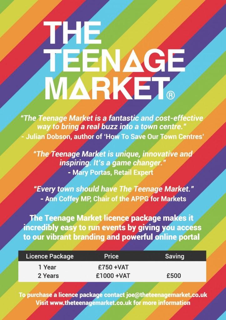 The Teenage Market ad