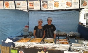 Delicious Thai food is available every Wednesday and Saturday at Basingstoke Market