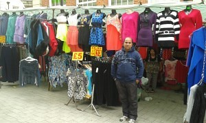 Dhillon stocks a wide range of ladies clothing, from leggings to dresses, jumpers to coats, which he sources from several different countries