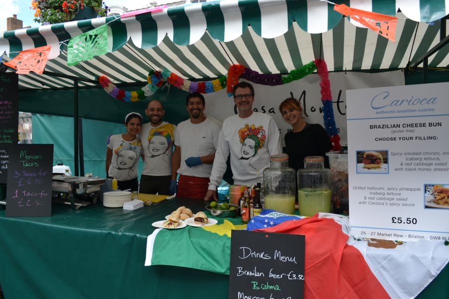 On tour from Brixton, Brazilian restaurants Casa Marita and Carioca join forces at the Stratford food festival
