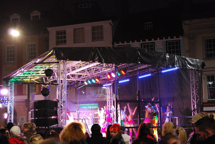 Christmas Lights switch on 2015 (60)