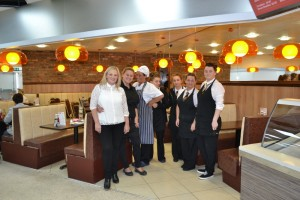 Some of the staff and owners of Benson