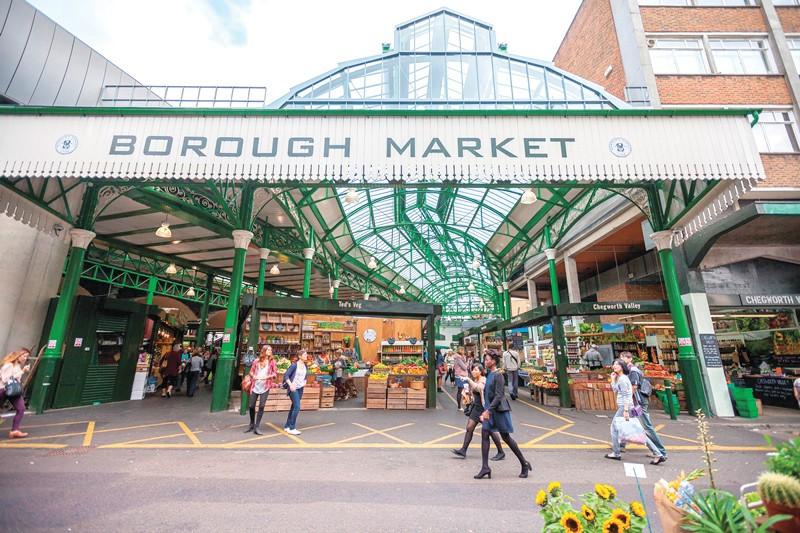 Borough Market sign - John Holdship