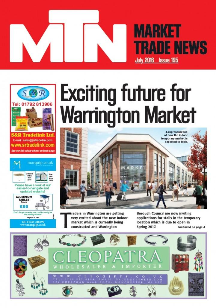 July 2016 Market Trade News