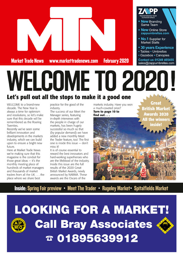 Book Cover: February 2020 – Issue 237